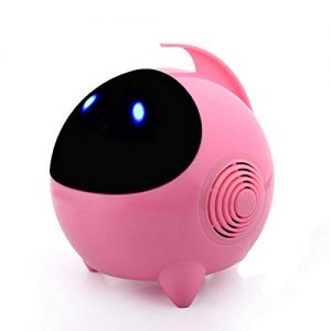 Portable Cute Cartoon USB Stereo Mini Robot Speaker Computer Speakers PINK