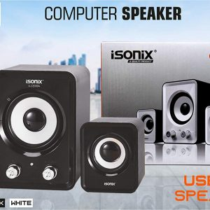 Isonix CS-1004 USB 2.1 Channel Multimedia Speaker