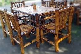 Table Set Bamboo Product